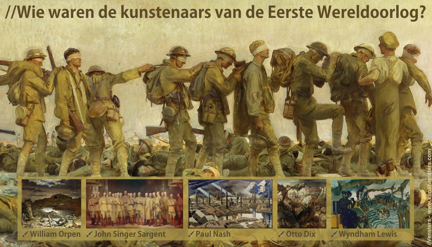 Kunst Eerste Wereldoorlog