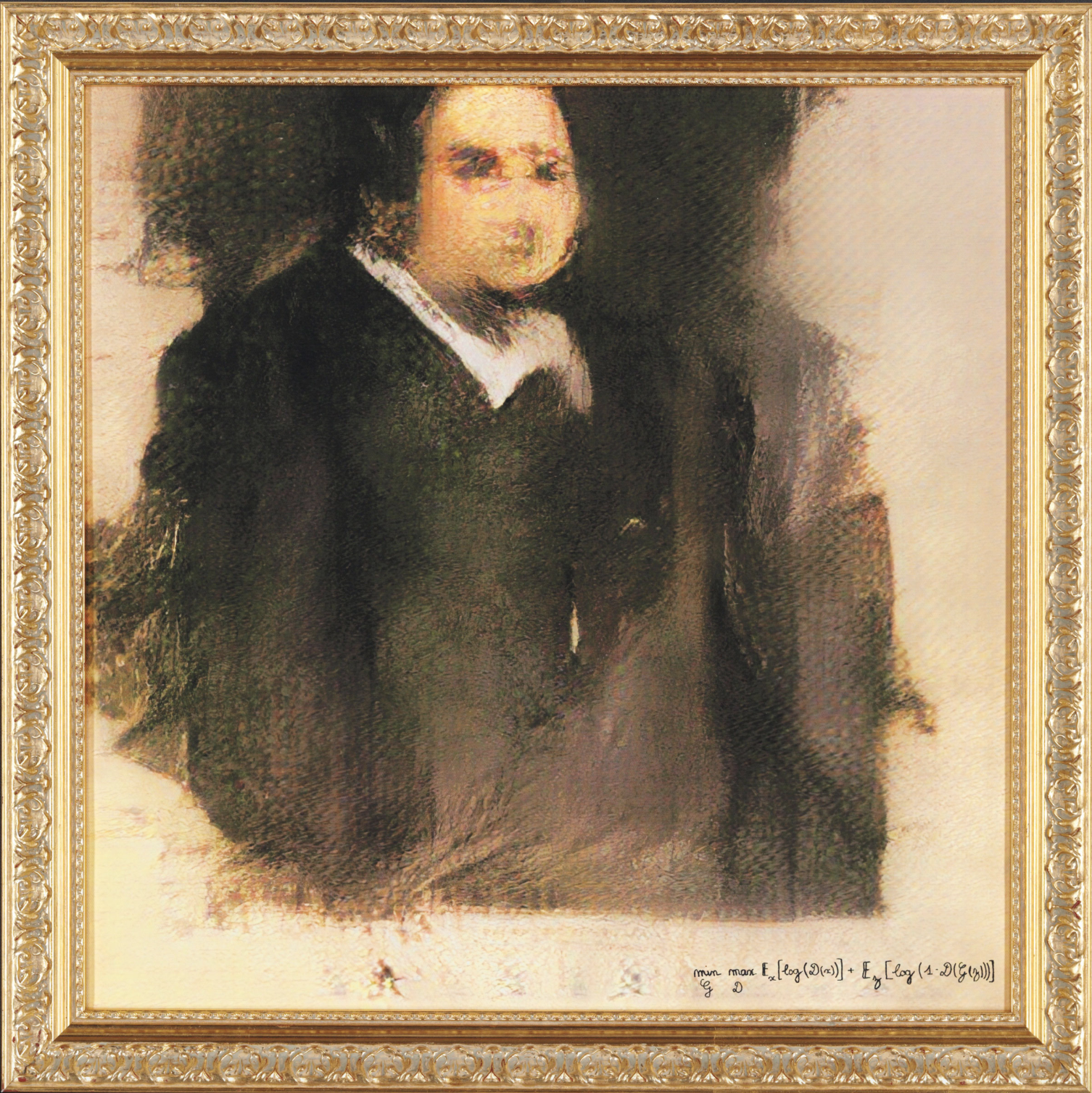 GAN - Portrait of Edmond Belamy