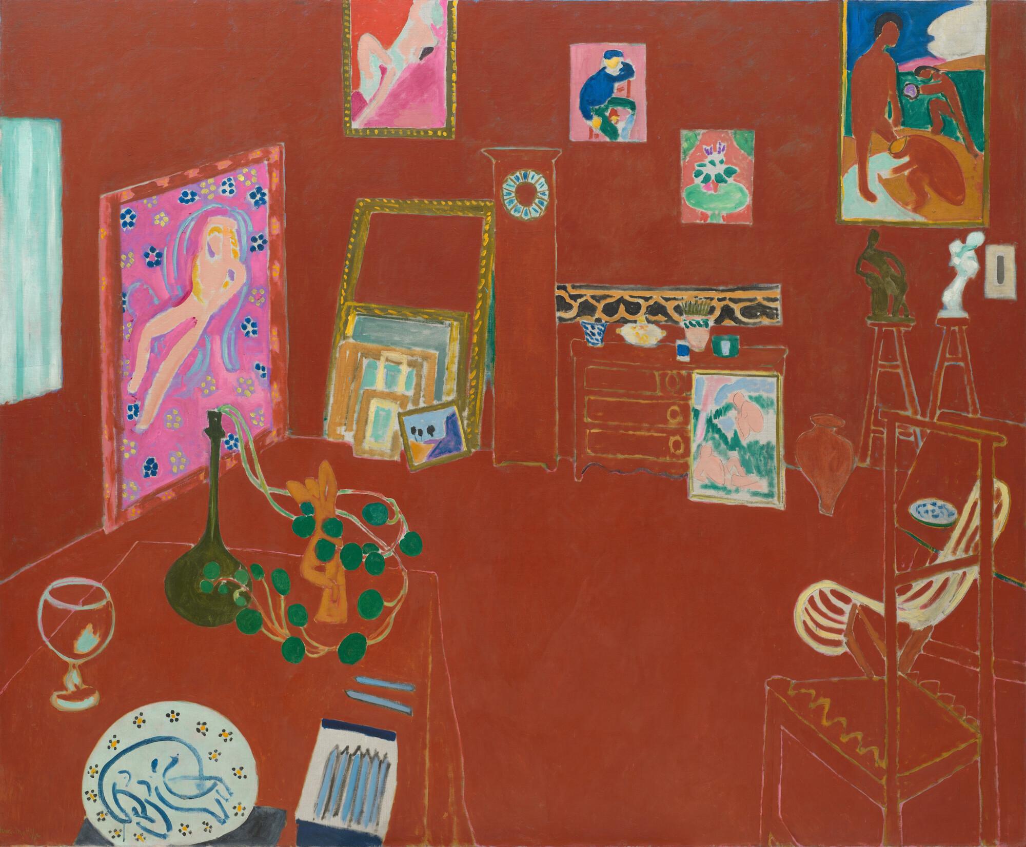 Henri Matisse - Rode Studio